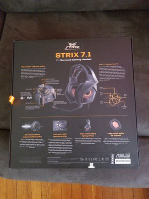 Asus strix 7.1 gaming headphones. for Sale in Albany, NY