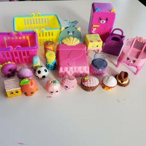 Shopkin + Accessories 21 Pieces $8 For All for Sale in Huntington Beach, CA