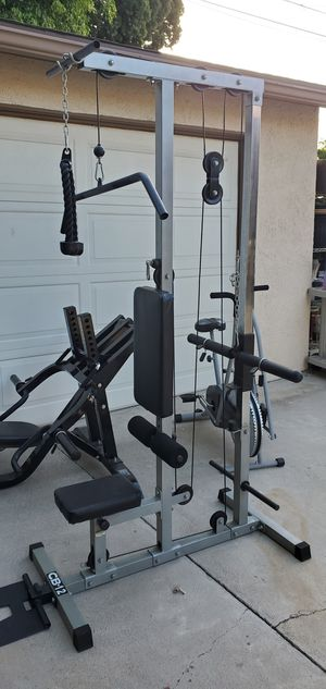 High end . Tall home gym. Near new 80 in tall. for Sale in Anaheim, CA