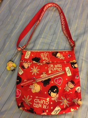 Authentic Harajuku Lovers Purse - Cupid Used only once - Still like brand new - pickup in Aiea - I DON'T DELIVER for Sale in Aiea, HI
