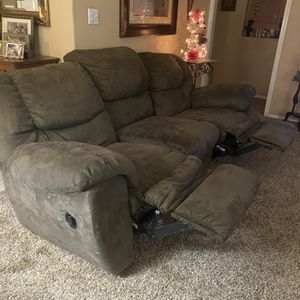 Double Reclining Couch for Sale in Vancouver, WA