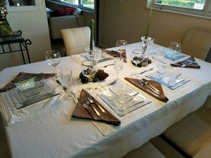 Fine diningware 8 servers for Sale in Biscayne Park, FL