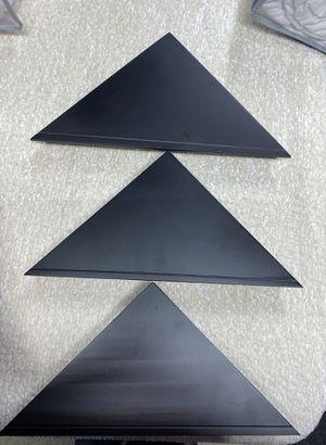 "11 ""x 1.6"" 3pk Providence Reilly Triangle Corner Shelf Set Black - Kiera Grace🔥🔥 for Sale in Houston, TX"