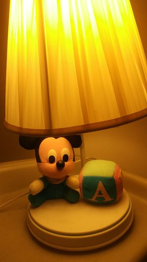 Vintage Mickey mini baby mouse lamp for Sale in Lorain, OH