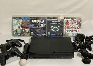 Playstation 3 Super Slim 500gb Bundle for Sale in Pflugerville, TX