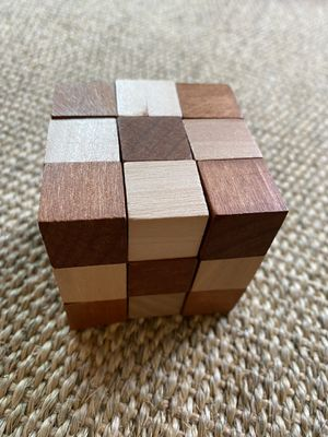 Snake Cube Wooden Puzzle (NEW) for Sale in Irvine, CA