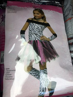 Zebra Halloween costume size 7/10 for Sale in Redmond, WA