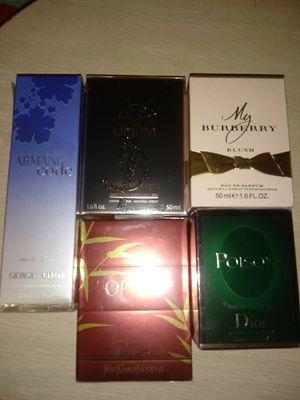 Designer Perfumes - 1.7 oz bottles for Sale in Tacoma, WA