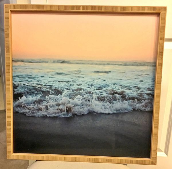 Beach Photo in Frame