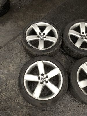 Vw Passat b7 rims with tires for Sale in Philadelphia, PA