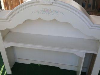 White Desk Hutch for Sale in Los Angeles,  CA