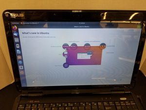 Asus K501J Laptop Pentium Dual Core T4200 320GB HDD 3GB RAM Ubuntu 18 REFURB for Sale in Chattanooga, TN