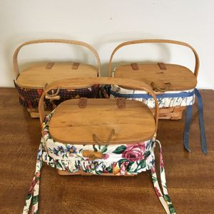 Longaberger purse baskets for Sale in Hilliard, OH