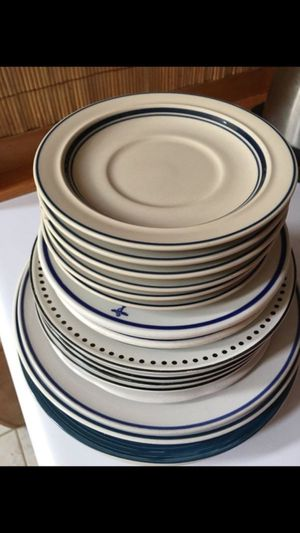 20 plates dishes , for kitchen $0.50 c each for Sale in Richmond, VA