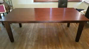 Large wooden table for Sale in Fresno, CA