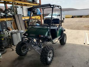 1998 lifted ezgo golf cart gas for Sale in Peoria, AZ