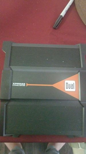 Dual xpr522 600watt amp. for Sale in Las Vegas, NV