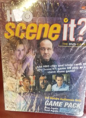 HBO *SCENE IT* DVD GAME FOR MATURE AUDIENCES PACK **NEW IN PLASTIC for Sale in Phoenix, AZ