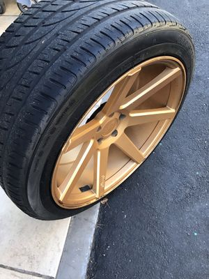 Custom Niche Rims and tires for Sale in Burbank, CA