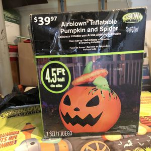 Halloween inflatable and non inflated decorations for low price! for Sale in Aurora, IL