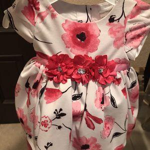 Little Baby Girl Flower Dress 6/9 Months for Sale in Norwalk, CA