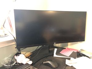 LG curved monitor for Sale in Glen Cove, NY
