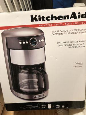 Kitchenaid coffee maker architect series for Sale in Fairfax, VA
