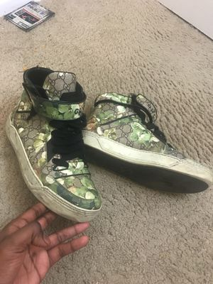 Gucci tennis shoes for Sale in Temple Hills, MD