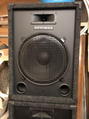 Optimus PA Speakers for Sale in Missoula, MT