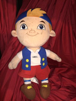 """Disney - Cubby plush doll - Jake and the amazing pirates - stuffed animal doll toy 13"""" tall for Sale in Phoenix, AZ"""