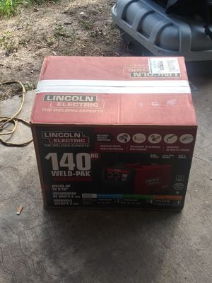 Lincoln eletric 140HD Weld-pac for Sale in San Antonio, TX