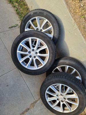 Subaru impreza rims with tires for Sale in San Diego, CA