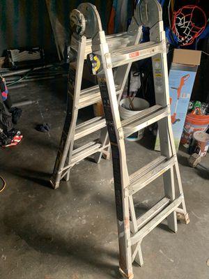 18' 3 function Gorilla Ladder. Works like new for Sale in Norwalk, CA