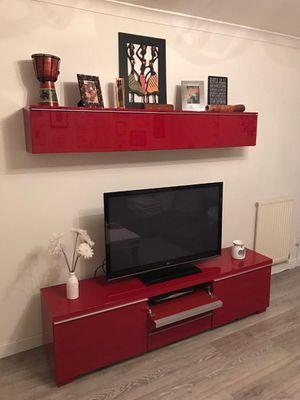 FREE DELIVERY!!! IKEA BESTÅ BURS TV Stand, Bookshelf, Desk Set for Sale in West Hollywood, CA