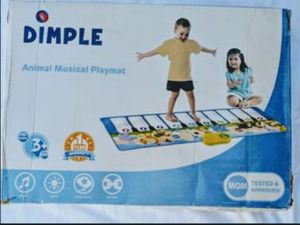 Toy kids Jumbo Animal Carnival Musical Playmat Piano for Sale in Ontario, CA