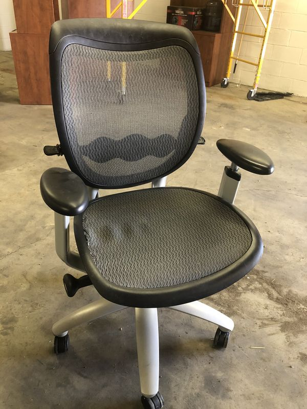 Adjustable Office Chairs (2)