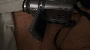 Sony digital 8 handycam. Comes with leather camera bag, charger extra battery, and extra tapes .. for Sale in Bakersfield, CA