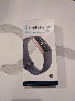 Fitbit Charge 3 for Sale in Glen Ellyn, IL