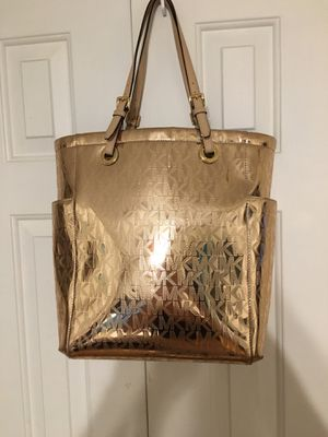Michael Kors Rose Gold Tote for Sale in Edgewood, NM
