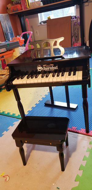 Kids baby grand piano - tuned for Sale in Rockville, MD