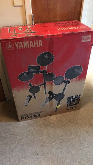 DTX432K Yamaha Electronic Drum Kit Brand New Never Opened ! $400 OBO for Sale in Rocky Mount, NC