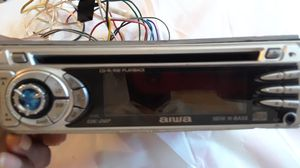 Aiwa stereo car CD receiver Model # CDC - Z127YUC for Sale in Lithia Springs, GA