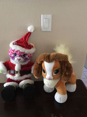 """""""Build A bear"""" plush animals. $15 each or both for $25. for Sale in Las Vegas, NV"""