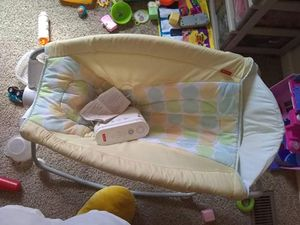 Fisher Price rock and play for Sale in Traverse City, MI