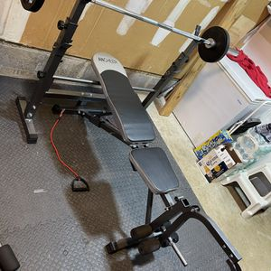 Weight Bench & Rack for Sale in Toms River, NJ
