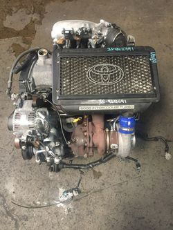 Toyota 4th gen Caldina Jdm 3sgte 2.0L Dohc Turbo Engine replacement for Sale in Fullerton,  CA