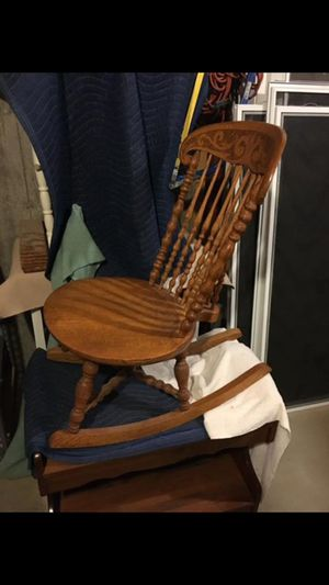 Antique rocking chair for Sale in Melrose, MA