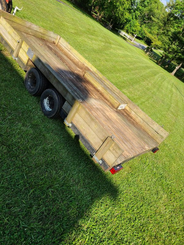 14ft Dual Axle Utility Trailer