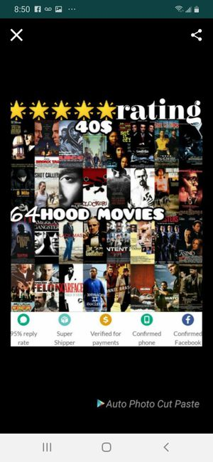 Hood movie usb for Sale in Bellflower, CA