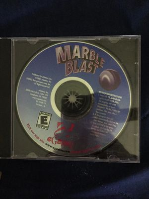 Marble Blast Computer Game for Sale in Mount Prospect, IL